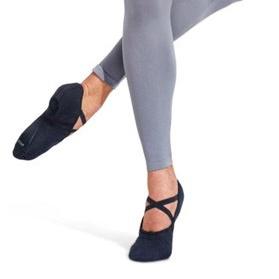 Capezio Men's Black Canvas Romeo Ballet Shoes
