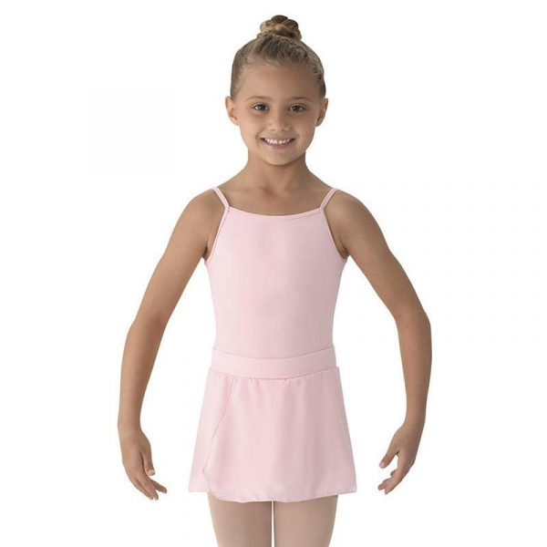 Mirella Mock Wrap Pull-On Ballet Skirt Girls Pink